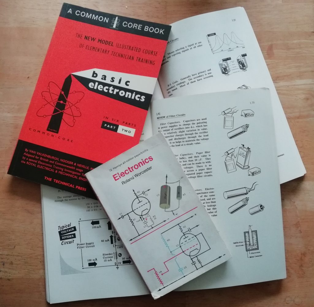 Selection of Valve Electronics books