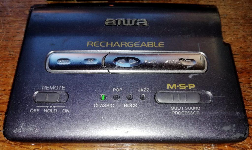 Aiwa PX457 portable cassette