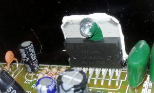 Laney RB3 power amp chip TDA7294