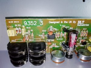 Laney RB3 preamp circuit board
