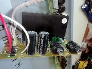 Laney RB3 power circuit board removed