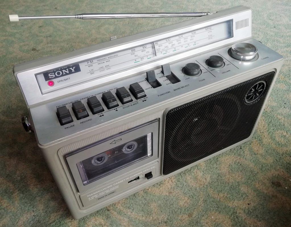 Sony Cassette Radio