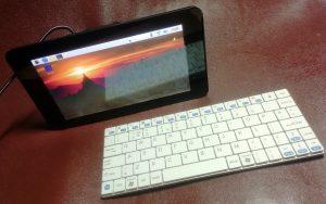 Pi Music box bluetouth keyboard