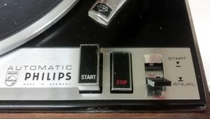 Philips Turntable Controls