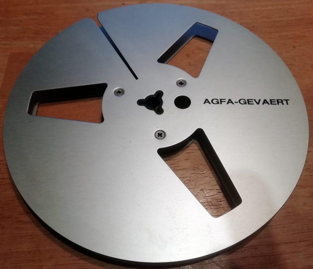 Agfa metal spool