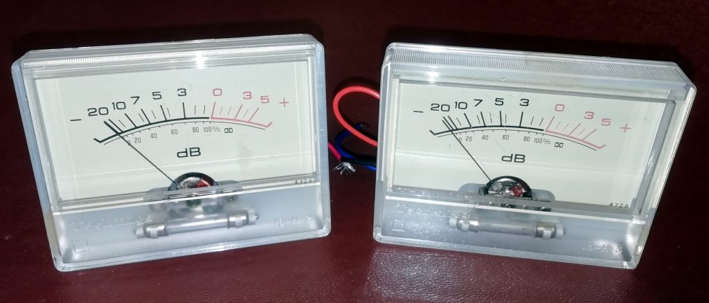 Technics meters
