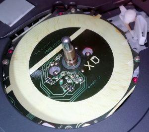 Technics PL-SQ200. Coils