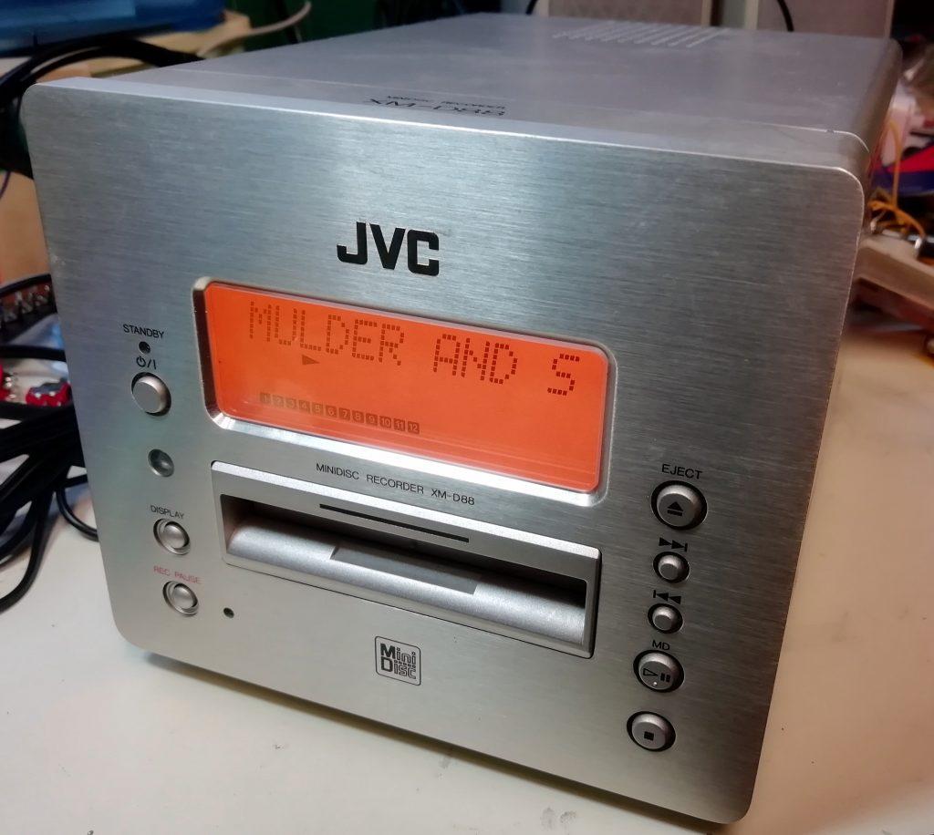 JVC-XM-D88 MiniDisc