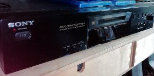 Sony MDS-JE480 MiniDisc Deck