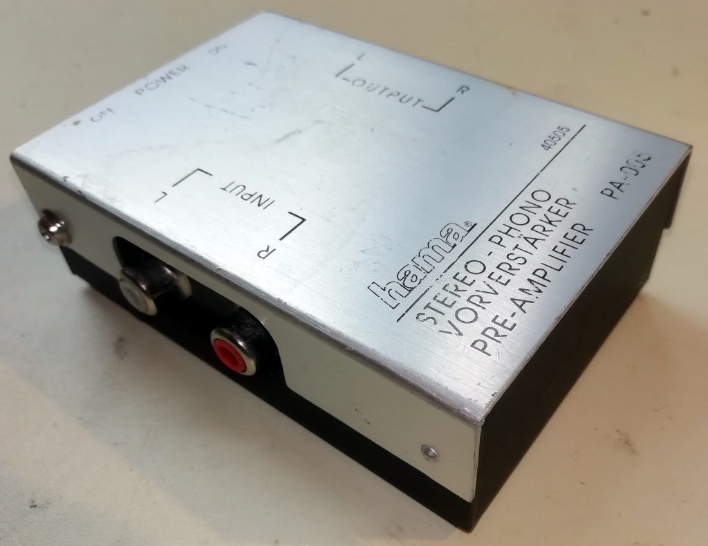 hama phono amplifier