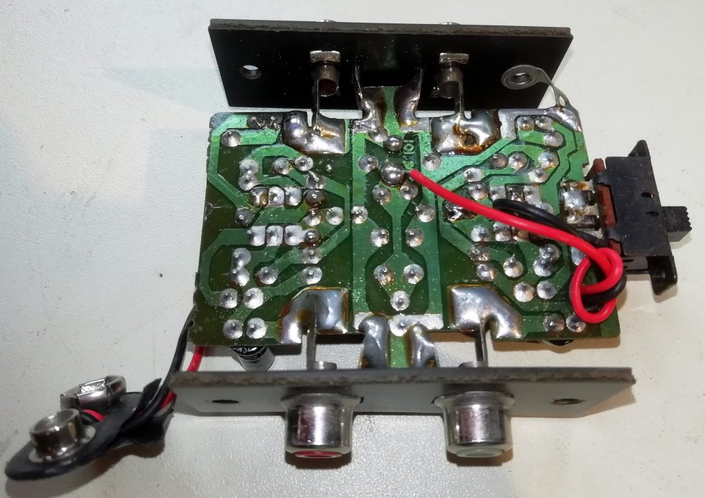 phono amplifier circuit layout