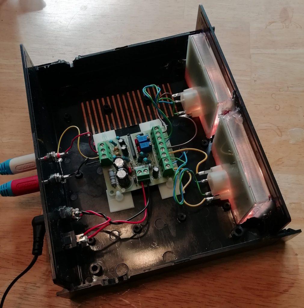 VU Meter component layout
