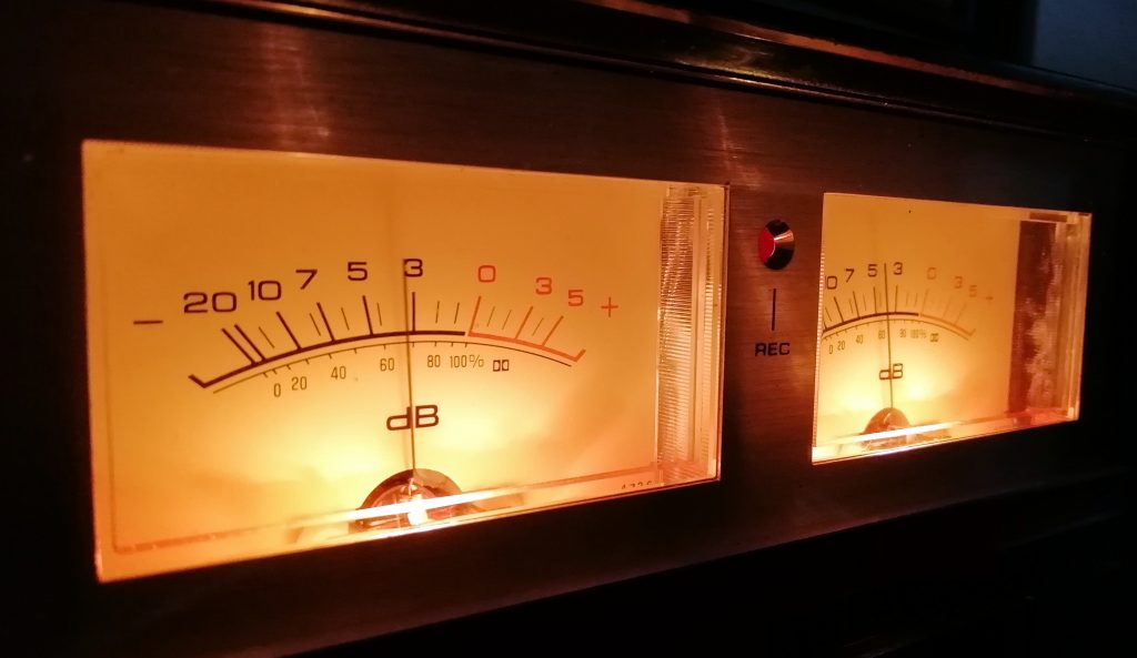 VU Meters in the dark