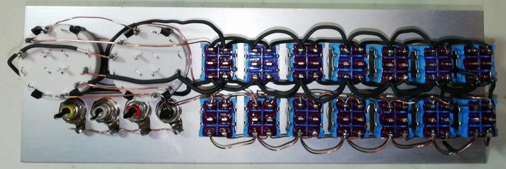 Switch box bus wiring