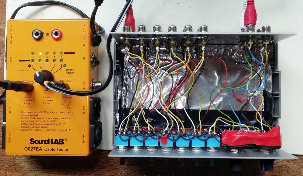 Switch box testing