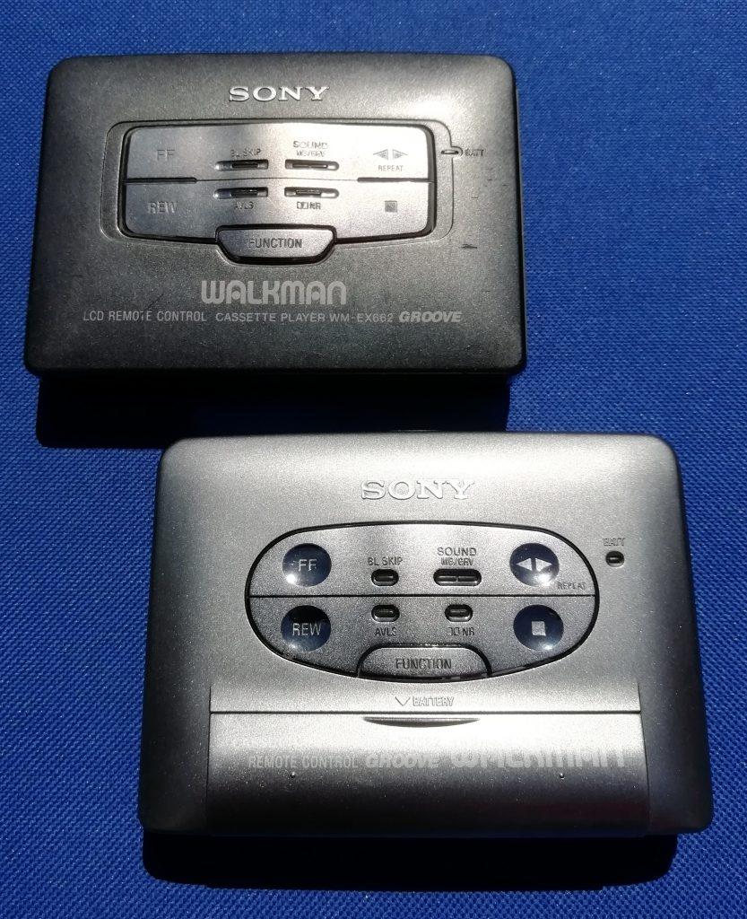 Sony Walkman WM-EX662 & WM-EX562