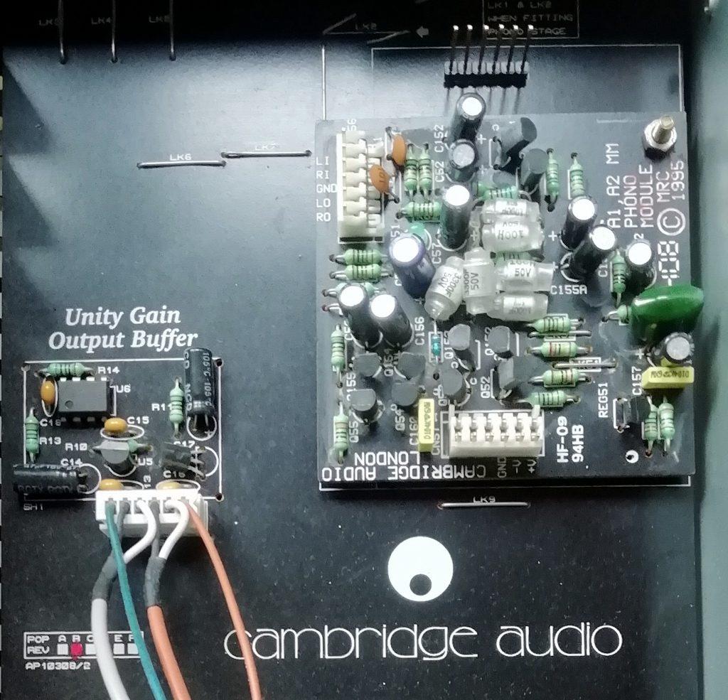 Cambridge A5 Output and Input Circuits