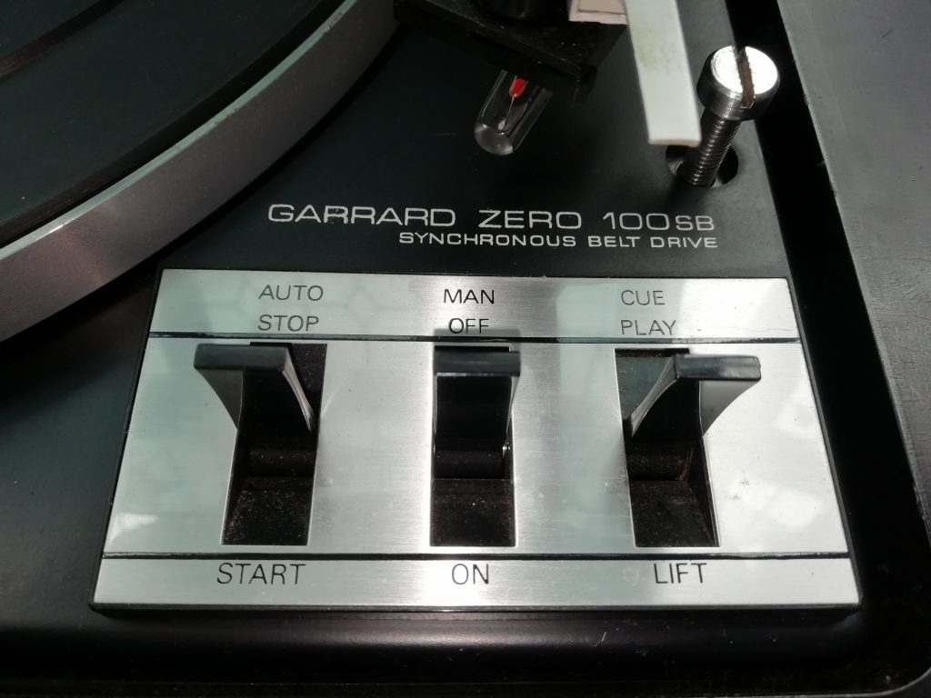 Garrard Zero 100SB Turntable