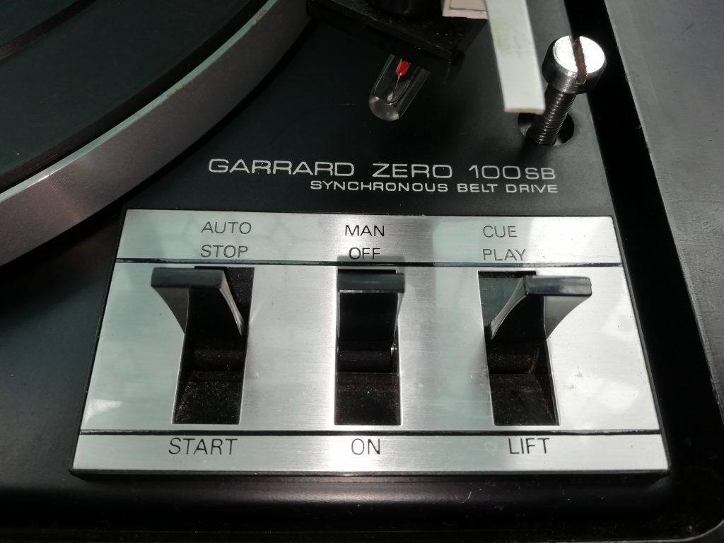 Garrard Zero 100SB Turntable