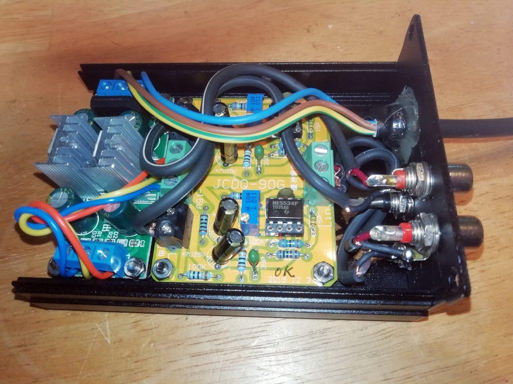 Regulator and amplifier boards