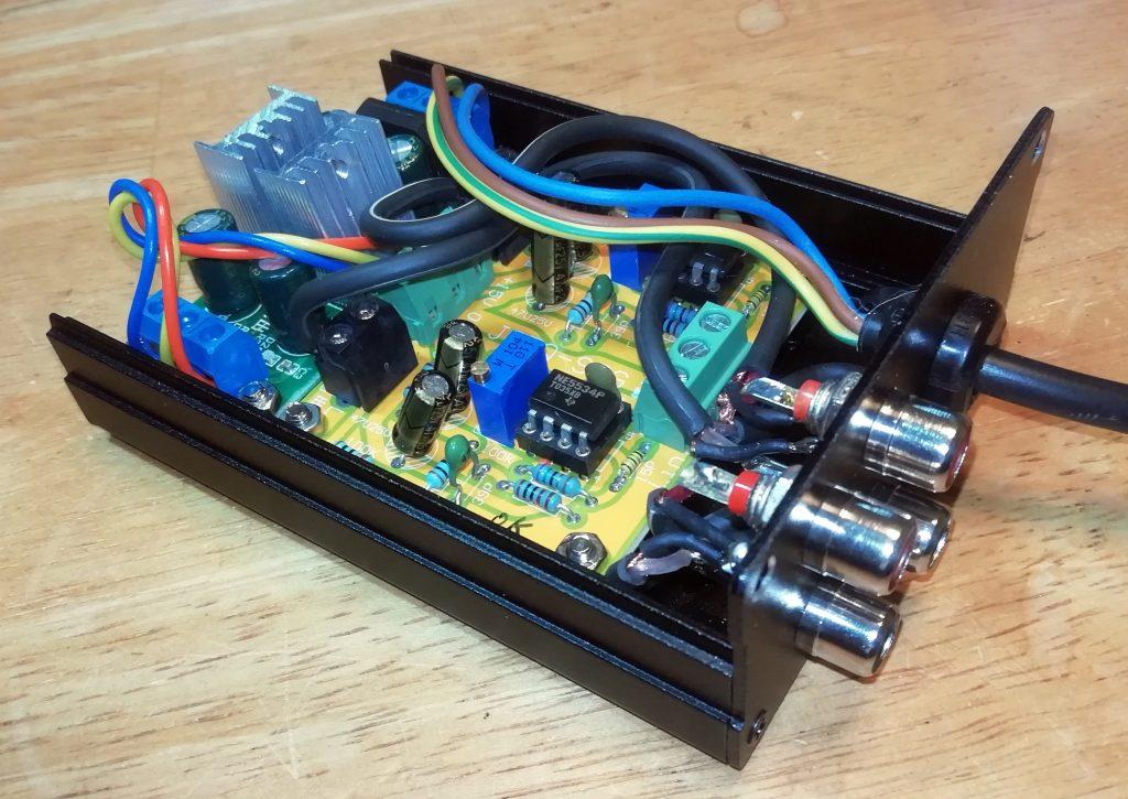 Inside Buffer amplifier