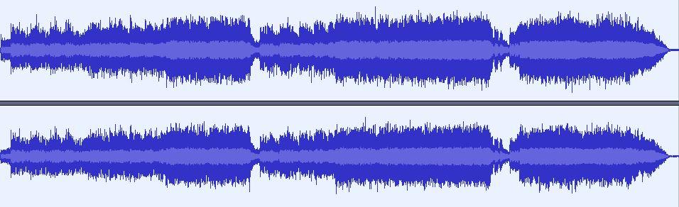 Vinyl capture waveform
